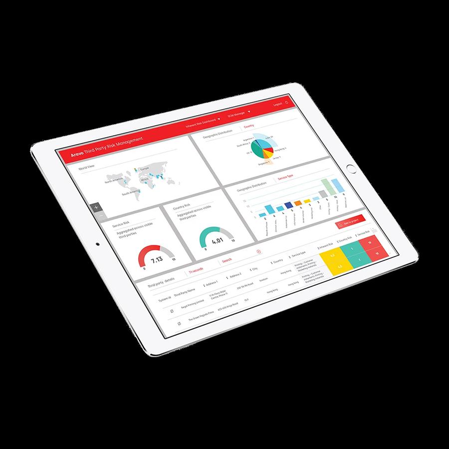 Third-Party Risk Management - GRC Software Features Screenshot